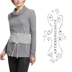 Anthropologie Saturday Sunday Stripe Trio pullover